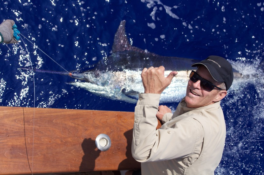 Ed's blue Marlin